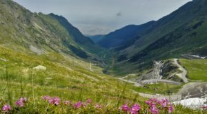 Transfagarsan road, at the end of May