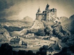 Bran Castle old image